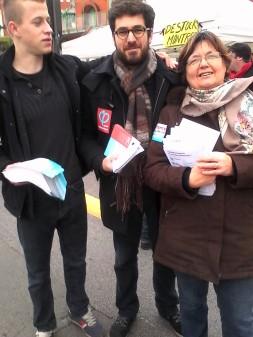 à Douchy-Lez-Mines, campagne d'inscription sur les listes électorales.