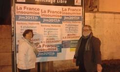 Collage Insoumis à Aulnoy-lez-Valenciennes!