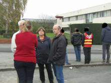 En soutien au salarié licencié à Nidaplast-Thiant