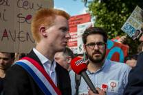 mobilisés avec Adrien Quatennens, député du Nord