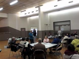 débat sur la police municipale à Villeneuve d'Ascq avec Ugo Bernalicis, député du Nord