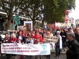 mobilisation contre les ordonnances Macron