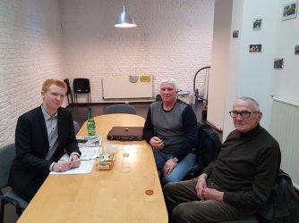 Rencontre d'Adrien Quatennnes avec la Caper