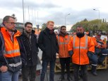 Visite de soutien aux salariés d'Ascoval en compagnie du député Adrien Quatennens