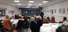 rencontre citoyenne pour les européennes à Lille Fives