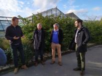 Visite du lycée agricole de Lomme